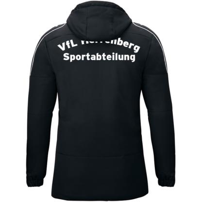 Coachjacke Active schwarz-weiß